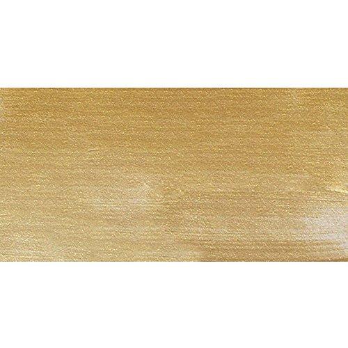 Golden Acryl: 473ml (16oz) Flasche Flüssigkeit GOLD feine IRISIERENDE (Oz 16 Flüssigkeit E)