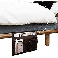 Comodino Organizer Organizer, divano, tavolo, Organizer, 4tasche materasso libro telecomando iPad cellulare rivista Tidy Hanging Bag