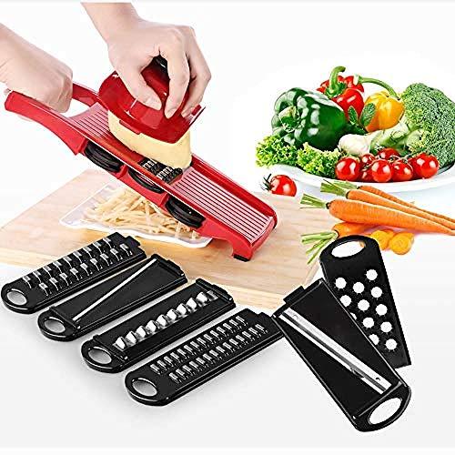Multifunktionaler Gemüseschäler für Slicer 6 in 1