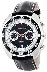 Hamilton H35756735–Montre de Poignet, Bracelet en Cuir