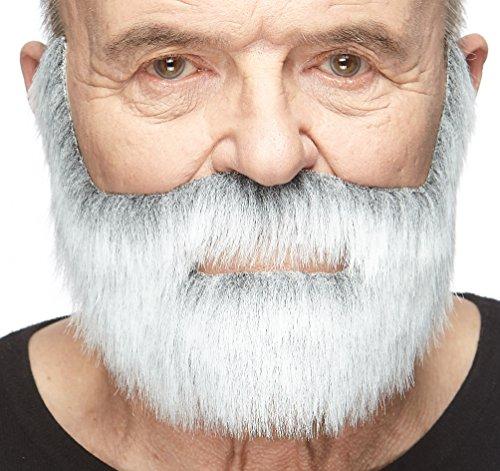 (Mustaches Grauer fälschen, selbstklebend Bart eines Edelmannes mit weiß)