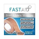 FAST Extensible de Tissu d'Aide Rapide 2,5 cm x 4,5 m