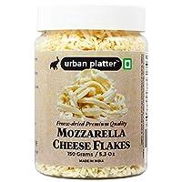 Urban Platter Mozzarella Cheese Flakes, 150g / 5.3oz [Premium Quality, Freeze-Dried, Cheesy]
