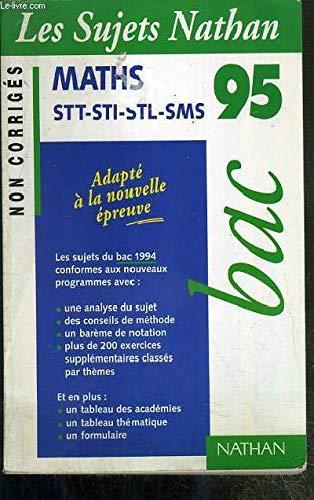 BAC 94-95 MATH STT-STI N.CORR