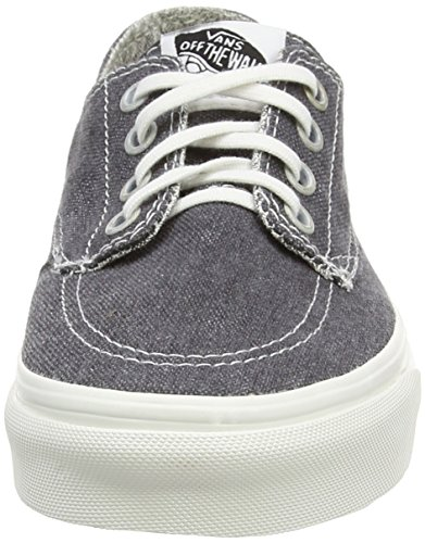 VansBrigata - Sneaker unisex adulto Grigio (Gris - Grey (Washed - Asphalt/Stripes))