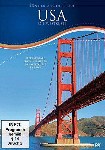 USA - Die Westküste aus der Luft (DVD)