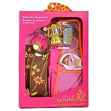 Our Generation Barbie Set di Accessori da Campeggio per Bambole, Colore Unico, BD37050Z