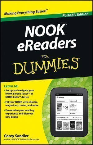 Nook eReaders For Dummies (For Dummies (Computers)) by Sandler, Corey Portable Edition (2012)