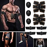 Colorful EMS Muskelstimulator, EMS Muscle Trainingsgerät ABS Trainer Fit Körper Home Übung Form Fitness (A)