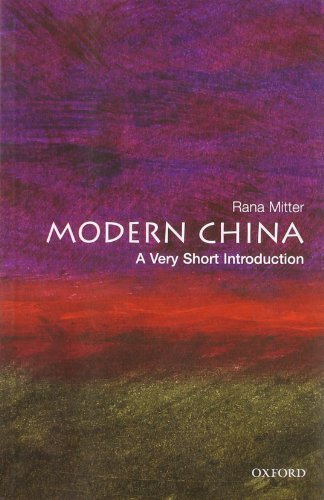 Modern China: A Very Short Introduction (Very Short Introductions) by Mitter, Rana (2008) Paperback