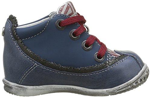IKKS Steven, Chaussures Premiers Pas Bébé Garçon Bleu (12 Vtu Marine Dpf/Link)