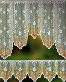 Gardinenbox Scheibengardinen Set, 2 Teilig, 30/75x150, 33912, 33900