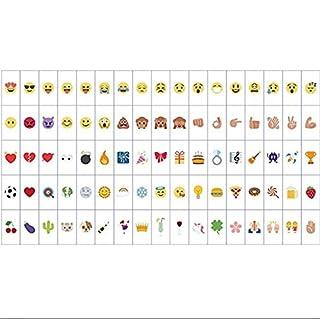 Alicemall LED Lichtbox Lightbox Message Leuchtkasten mit Buchstaben Emojis und Symbolen (85pcs Emojis)