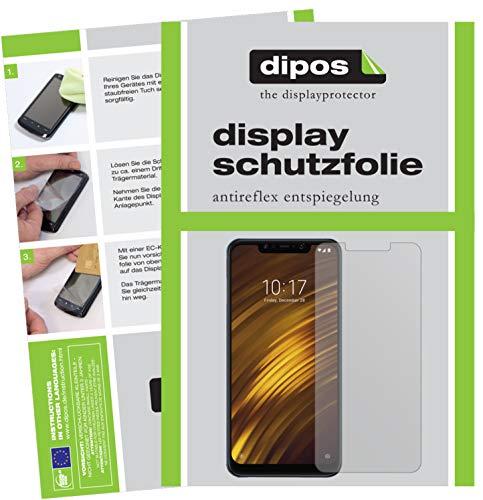 dipos I 6X Schutzfolie matt passend für Xiaomi Pocophone F1 Folie Bildschirmschutzfolie