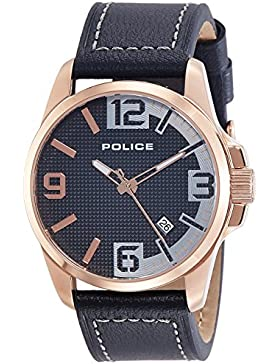 Police Analog Black Dial Men's Watch-PL12591JVSR02AJ
