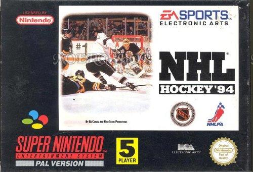 NHL Hockey 94 - Super Nintendo - PAL
