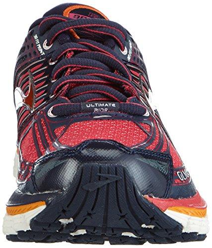 Brooks  Glycerin 12, Baskets pour femme Rouge/noir