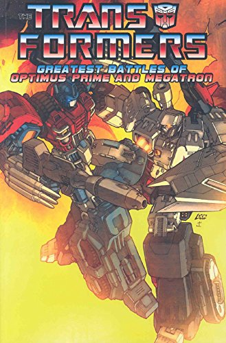 Transformers: The Greatest Battles Of Optimus Prime And Megatron by Don Figueroa (Artist), E. J. Su (Artist), Manny Galan (Artist), (21-Jun-2007) Paperback