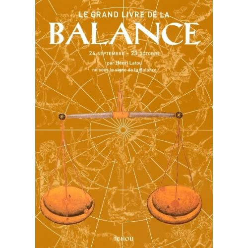 Le grand livre de la Balance