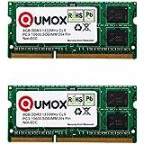 QUMOX 16 Go (2x 8 Go) 1 333 DDR3 PC3-10600 8 Go SO-DIMM PC3 RAM memoire d'ordinateur portable 204pin CL9