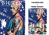 Justin Bieber calendario 2018+ Justin Bieber frigorifero