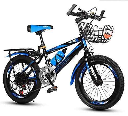 028970e0a Bicicletas Niños 6-12 años Cochecito niña niño Escuela Primaria montaña Bici-Desplazamiento  Azul