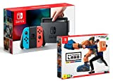 Nintendo Switch Rouge/Bleu Néon 32Go Pack + Nintendo Labo - Kit Robot