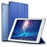 Coque iPad mini, ESR Slim-Fit Housse Etui Smart Cover PU Cuir pour Apple iPad Mini 3 / iPad min 2 / iPad mini avec Fonction Veille Automatique - Yippee Color Series (Bleu Marin)