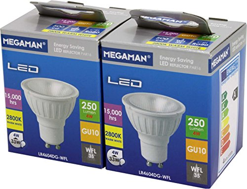 Megaman IDV LED-Reflektorlampe MM26900 (VE2) PAR16 GU10/828 35° LED-Lampe/Multi-LED 4020856269006