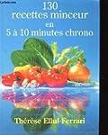 130 recettes minceur en 5 a 10 minute...