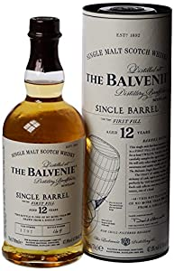 Balvenie Single Barrel 12 Year Old Scotch Whisky 70 cl from BALVENIE