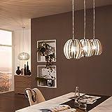 Licht-Trend Rift S / Hängeleuchte mit Holzschirm / Ø 19 cm...