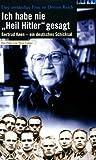 """Ich habe nie """"Heil Hitler"""" gesagt - Gertrud Keen [VHS]"""