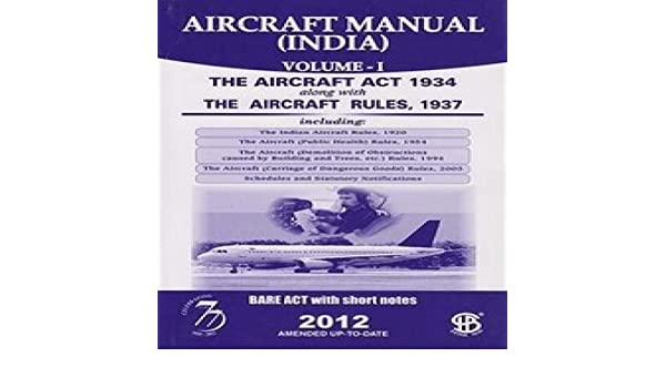Amazon. In: buy aircraft manual (india) volume-i, 2017 book online.