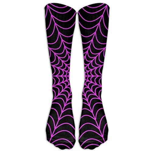 fghjdfcnfd Halloween Spider Web Compression Socks Soccer Socks Knee High Socks for Running,Medical,Athletic,Edema,Diabetic,Varicose Veins,Travel,Pregnancy,Shin Splints,Nursing. (Halloween Ecke Web Spider)