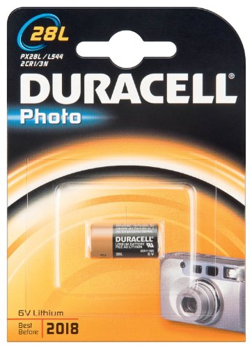 DURACELL Duracell Photo 28L - Battery 1 Count (Pack of 4) (Packaging May Vary) by Duracell (English Manual)