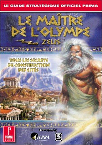 Guide stratégique officiel Prima : Le Maître de l'Olympe - Zeus