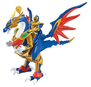 Bandai - Figurine - Power Rangers - Mystic Force - Dragon Rider + Figurine 12 Cm - Ranger Solaris
