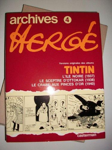 Archives Hergé - Tintin - Vol 4