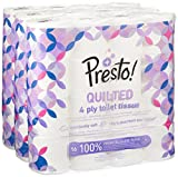 Presto! 4 Ply Toilet Tissues – QUILTED