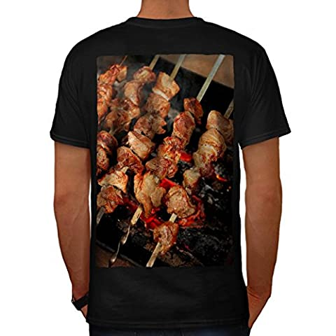 un barbecue Gril Moi à Photo Aliments Cracher Rôti Homme S T-shirt le dos | Wellcoda