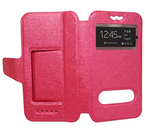 Generic Universal Pouch Flip Case / Cover for Gionee S6 ( Pink )