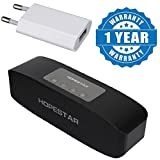 #2: Drumstone Hopestar High Bass Portable Bluetooth Speaker And 1Amp Usb Power Wall Adapter Compatible With Xiaomi, Lenovo, Apple, Samsung, Sony, Oppo, Gionee, Vivo Smartphones (One Year Warranty)