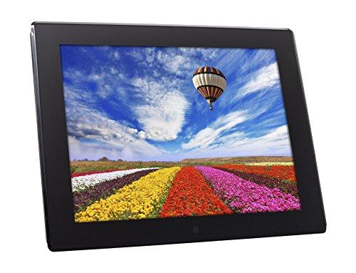 Rollei Degas DPF-150 - Digitaler Multi-Media-Bilderrahmen mit 15 Zoll (38,1 cm) und 4 GB internem Speicher - Schwarz