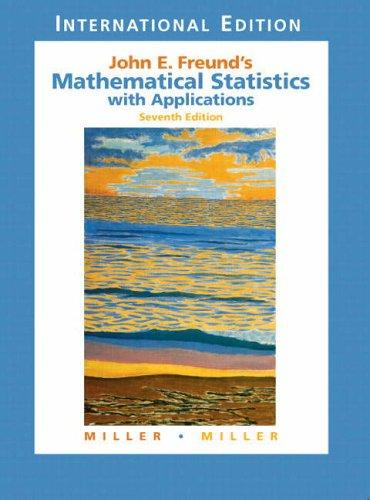 Mathematical statistics by john e freund pdf free
