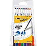 BIC Velleda 1721 Whiteboard Markers Assorted Colours 8 Pack