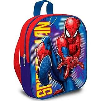 Spiderman Mini Mochila Tipo Casual, 22 Litros, 29 cm, Multicolor