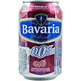 Bavaria Non Alcoholic Malt Drink Pomegranate Can 330 ML [Pack Of 24, Super Saver & Party Pack]