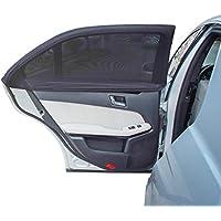 TFY-soleil universel pour portes et fenêtres arrière de voiture 2 pièces