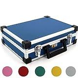 Aluminium Koffer Basic L35 Blau Typ 424120, Blau